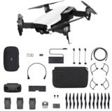afbeelding van de DJI Mavic Air Fly More Combo wit quadcopter