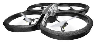 Parrot AR.Drone 2.0 quadcopter snow