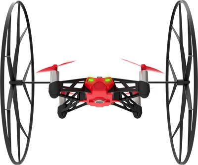 Parrot Rolling Spider camera quadcopter rood