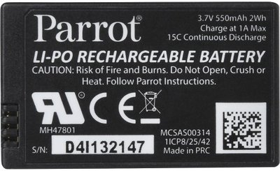 Parrot minidrone batterij 3,7V 550mAh
