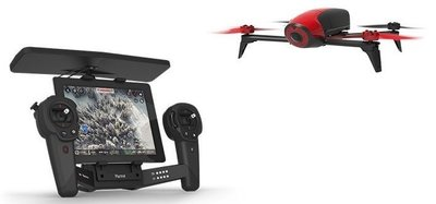 Parrot Bebop 2 + Skycontroller rood quadcopter