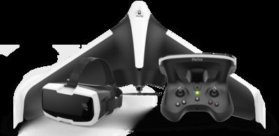 Parrot Disco + Skycontroller 2 + VR-bril quadcopter