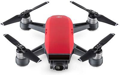 DJI Spark rood quadcopter