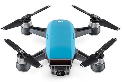 DJI Spark blauw quadcopter