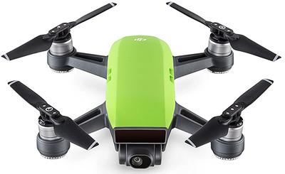 DJI Spark groen quadcopter