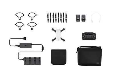 DJI Spark Fly More Combo wit quadcopter