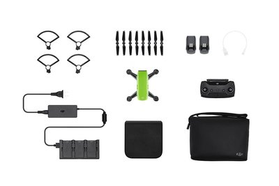 DJI Spark Fly More Combo groen quadcopter