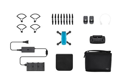 DJI Spark Fly More Combo blauw quadcopter