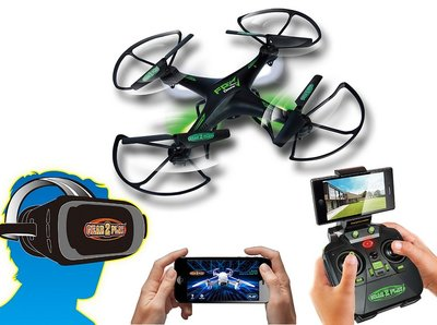 Gear2Play Urban FPV quadcopter + VR-bril