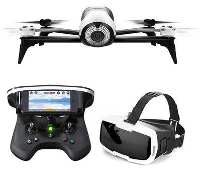 Parrot Bebop 2 + Skycontroller + VR-bril wit quadcopter