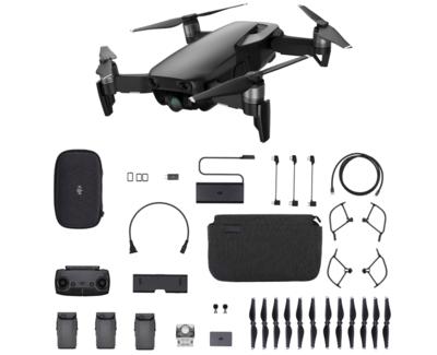 DJI Mavic Air Fly More Combo zwart quadcopter