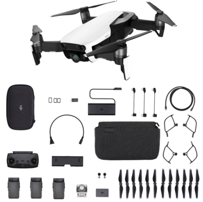 DJI Mavic Air Fly More Combo wit quadcopter