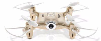 Syma X21W FPV quadcopter goud