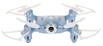 Syma X21W FPV quadcopter blauw