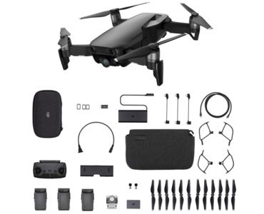 afbeelding van de DJI Mavic Air zwart quadcopter