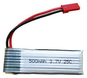 Afbeelding van de WLtoys batterij 3,7 volt 500 mAh voor V222 / V959 / V929