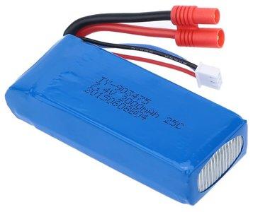 Afbeelding van Syma 7,4 Volt 2000 mAh batterij