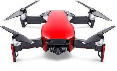 afbeelding van de DJI Mavic Air rood quadcopter
