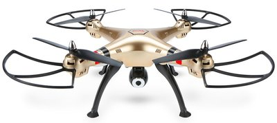 Syma X8HC quadcopter goud